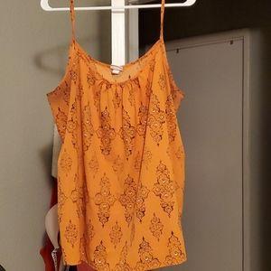 Merona tank blouse